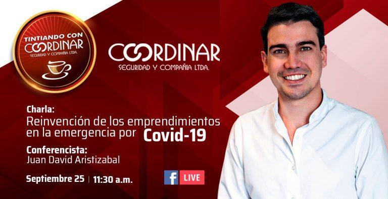 Tintiando con Coordinar: Reinvención de los emprendimientos en la emergencia por Covid-19